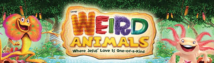 Weird Animals Banner