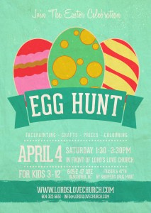 Lord's Love Church Easter Egg Hunt